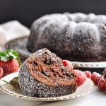 Claudia's Easy Triple Chocolate Cake
