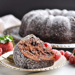 Claudia's Easy Triple Chocolate Cake