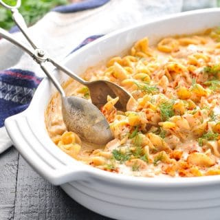 Dump-and-Bake Chicken Paprikash and Noodles
