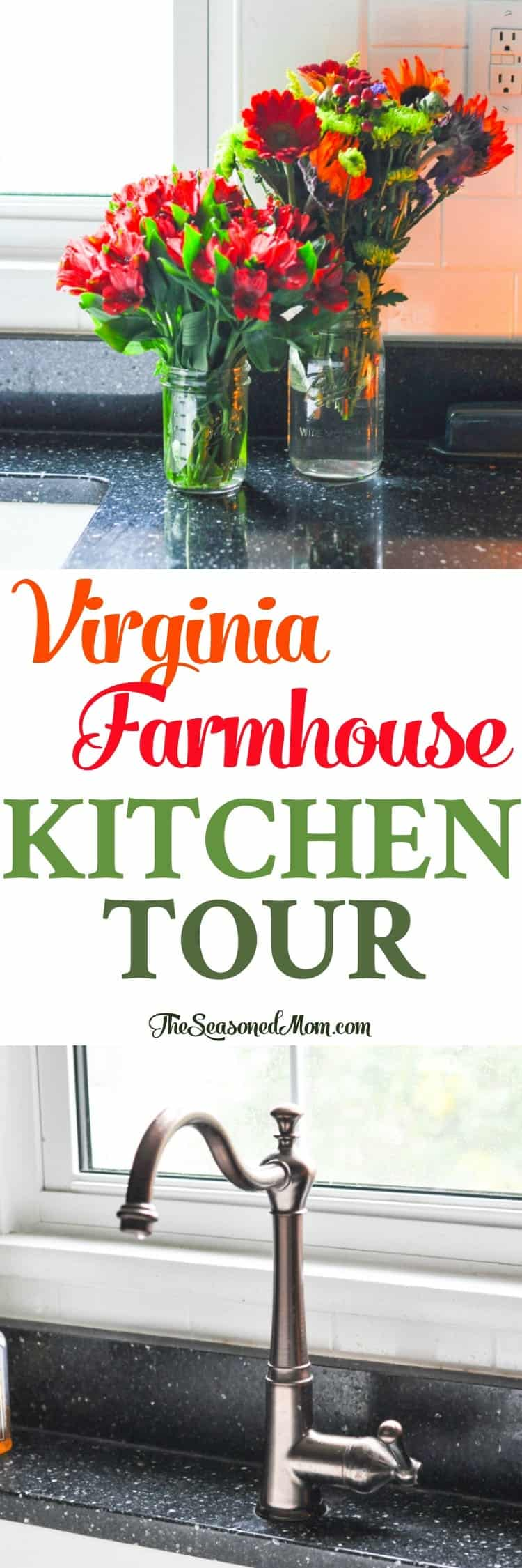 Behind the scenes with a cozy farmhouse kitchen tour! Home Decor | Kitchen Ideas | Kitchen Decor | Kitchen Remodel #kitchen #decor #farmhouse