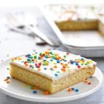 Chi-Chi's Famous White Texas Sheet Cake