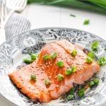 4-Ingredient Baked Salmon Recipe