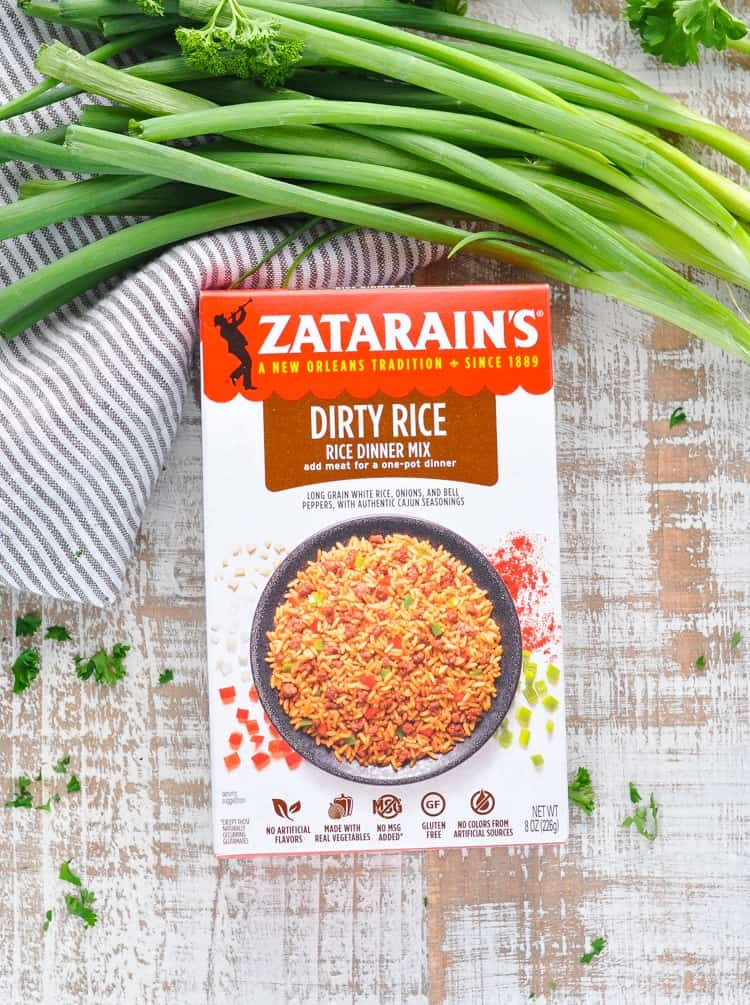 Photo of Zatarain's Dirty Rice box mix