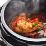 Slow Cooker or Instant Pot Chicken with Peppers