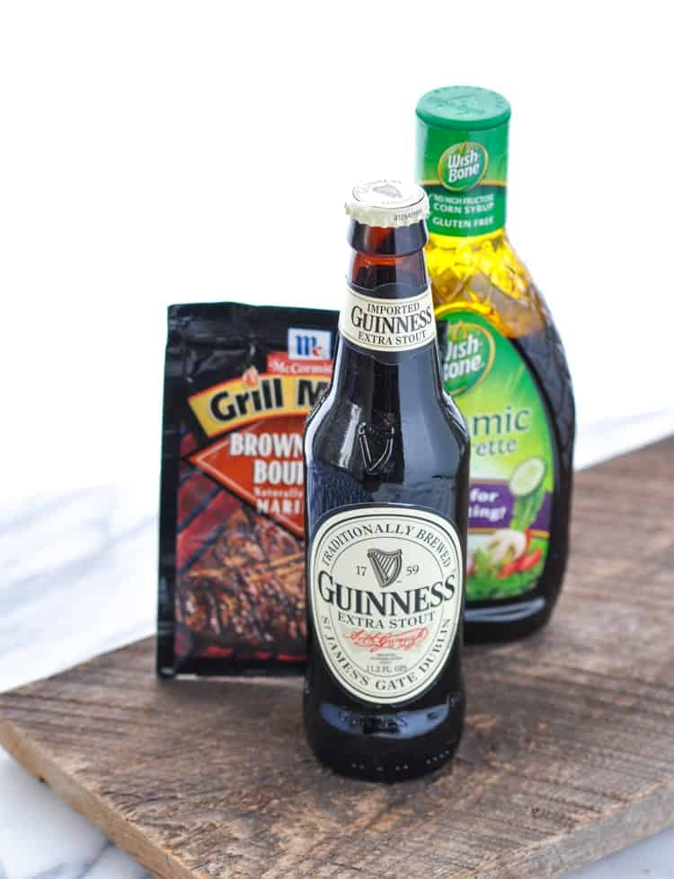 Guinness Flank Steak Marinade - The Seasoned Mom