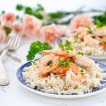 20-Minute Garlic Shrimp Skillet
