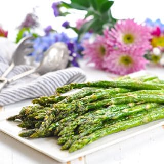 Perfect Oven Roasted Asparagus