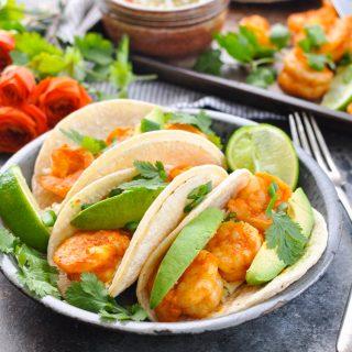 20-Minute Sheet Pan Shrimp Tacos