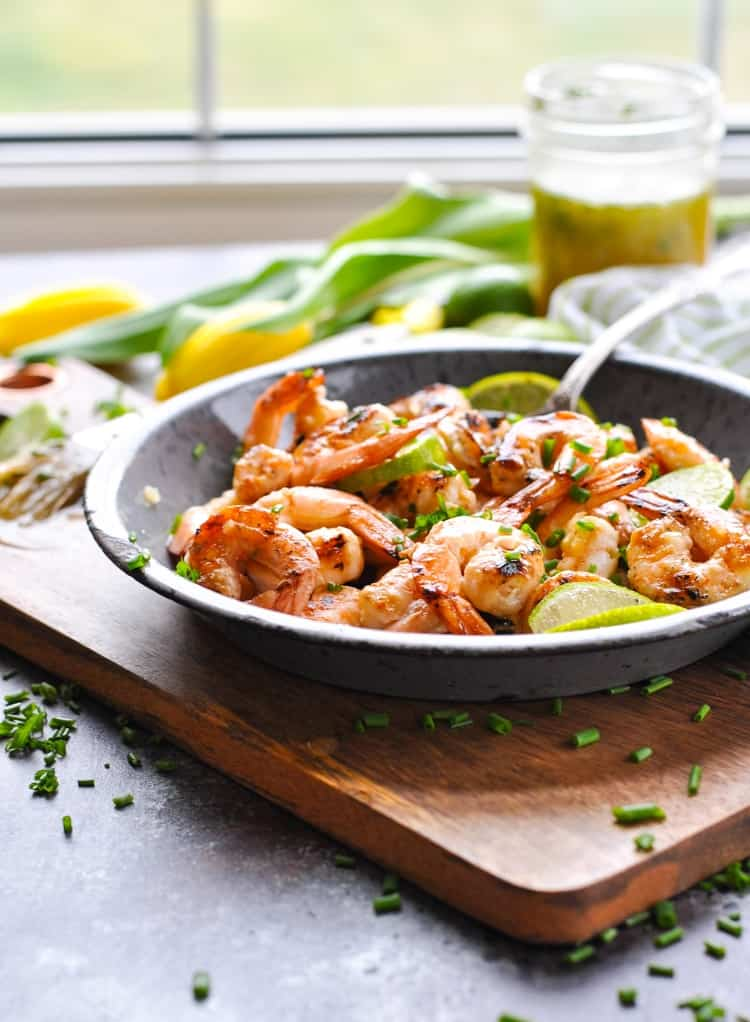 A favorite healthy grilled shrimp recipe!