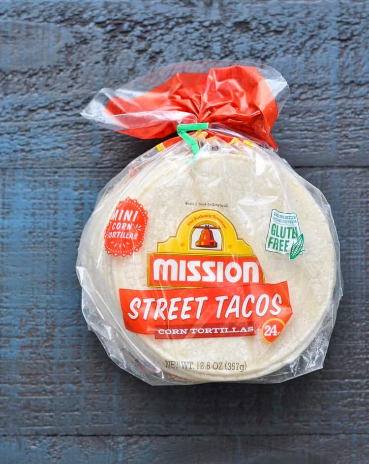 Package of Mission Street Tacos Corn Tortillas