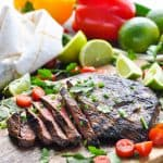 Easy Carne Asada {for the Grill or Oven}