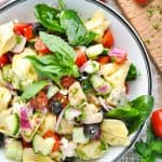 Chicken and Tortellini Salad + a Giveaway!