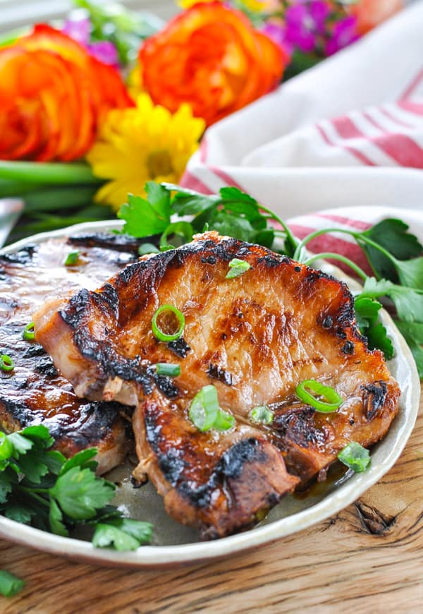 An easy pork chop marinade is the perfect way to serve pork for dinner!