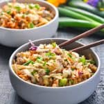"""One Skillet """"Egg Roll in a Bowl"""" + {a Video!}"""