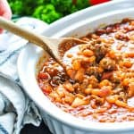 Serve Cowboy Baked Beans for a delicious side dish at your next party!