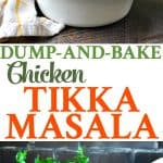 An easy and healthy dinner recipe for Chicken Tikka Masala!