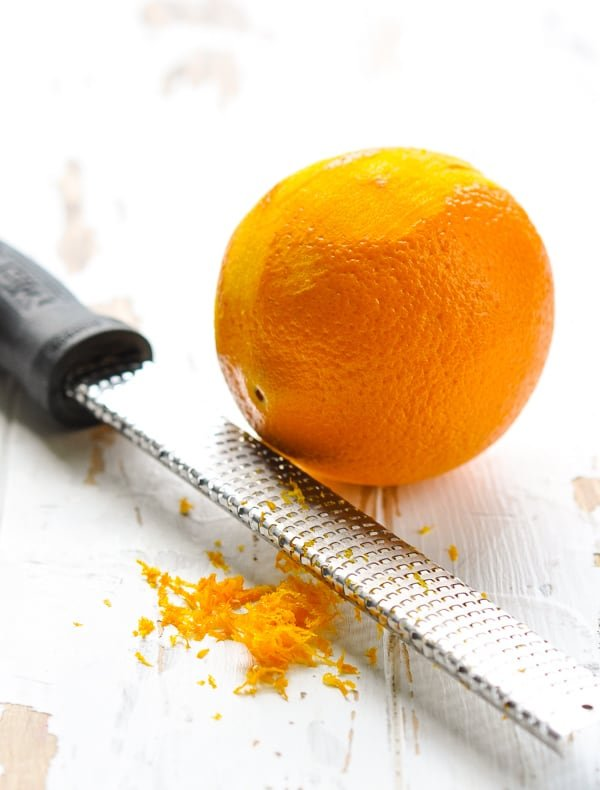 How to zest an orange.