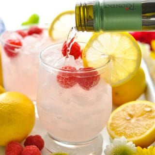 Pink Lemonade Italian Spritz Cocktail