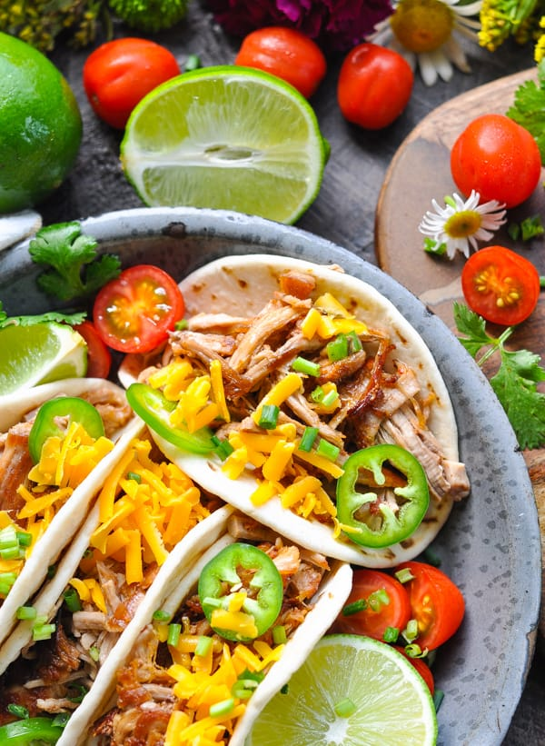 An easy way to enjoy pork tenderloin -- Slow Cooker Carnitas!