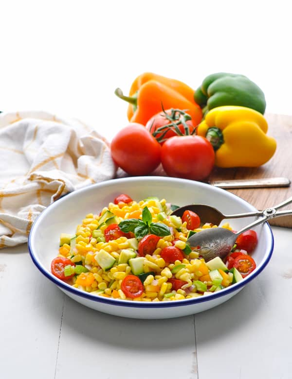 Everyone loves easy side dishes like this summer corn salad!