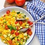 Healthy and Easy Summer Corn Salad - The Seasoned Mom