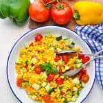 Healthy and Easy Summer Corn Salad