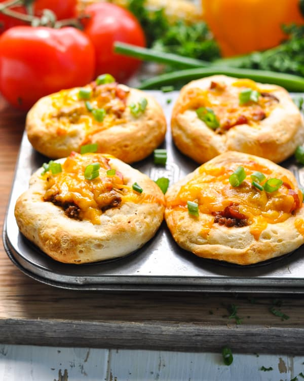 A 5-ingredient muffin tin dinner that's perfect for taco night!