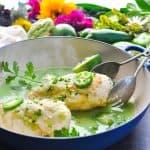 5-Ingredient Salsa Verde Tomatillo Chicken