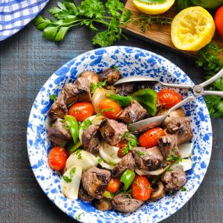 Beef Shish Kabobs {Oven, Stovetop, or Grill!}