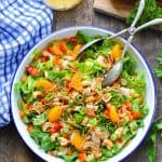 Chinese Chicken Salad with Cashews