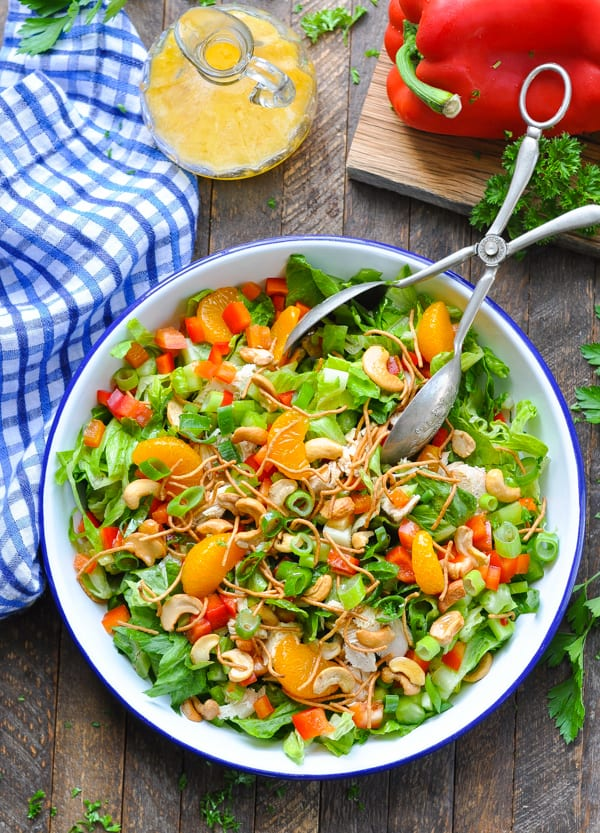 Chinese Chicken Salad is an easy dinner salad recipe for summer