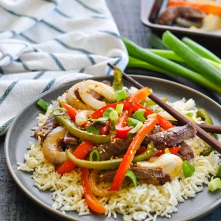 Dump-and-Bake Chinese Pepper Steak