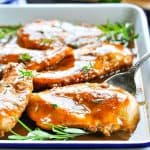 No Work Baked Chicken is an easy dinner recipe for your busiest nights!