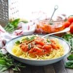 5-Ingredient Pasta Pomodoro Sauce