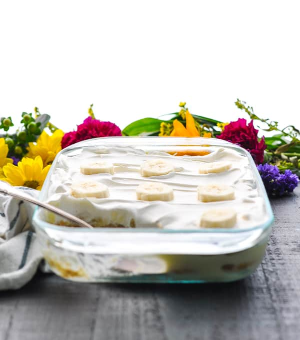 Make this quick and easy banana pudding with just 5 ingredients and no baking!