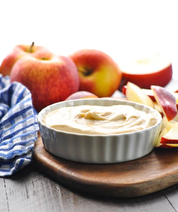 Easy apple dip for a party snack