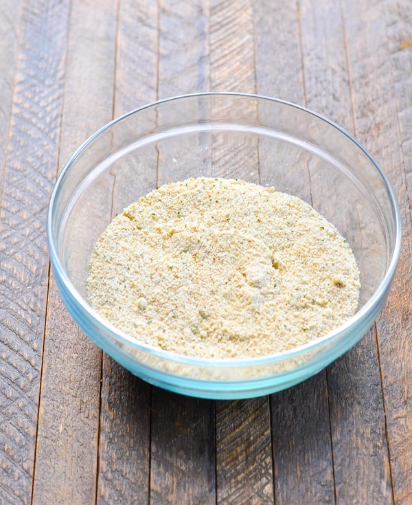 Parmesan breadcrumb coating for Chicken Parm
