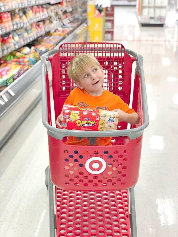 spencer in target cart