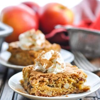 Shortcut Apple Pecan Date Bars