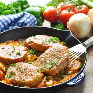 One Pot Southern Pork Chop Dinner