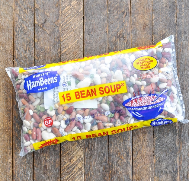 Bag of 15 bean soup mix