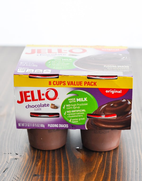 Jello Chocolate Pudding Snack Cups