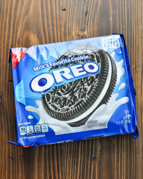 Box of Oreo cookies