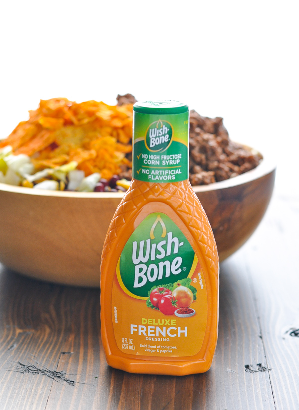 French dressing for an easy taco salad recipe