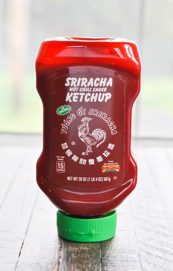 Sriracha ketchup for pork tenderloin marinade