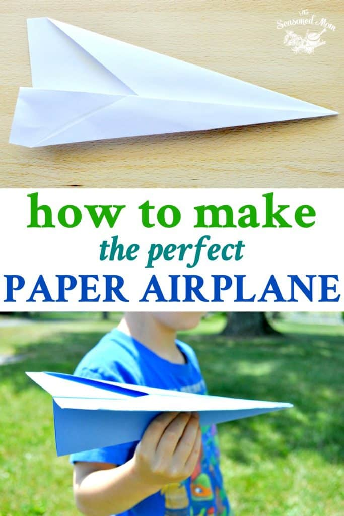 How To Make The Perfect Paper Airplane Seasoned Mom