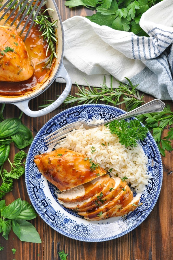 5 Ingredient Baked Chicken Breast Recipe The Seasoned Mom