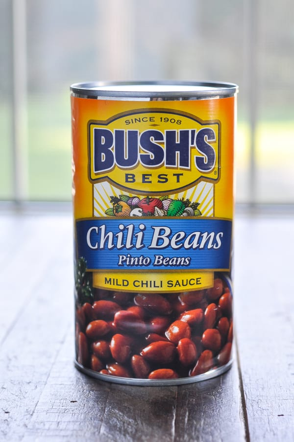 Can of chili beans