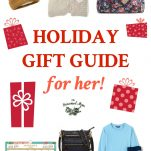 Large collage of Holiday Gift Guide for Her