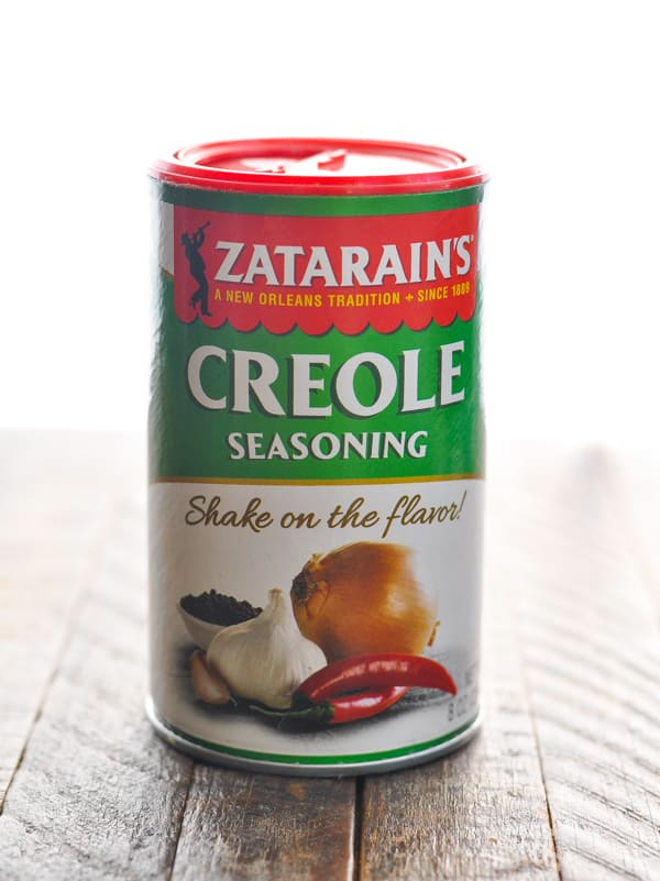 Can of Creole seasoning for Instant Pot red beans and rice